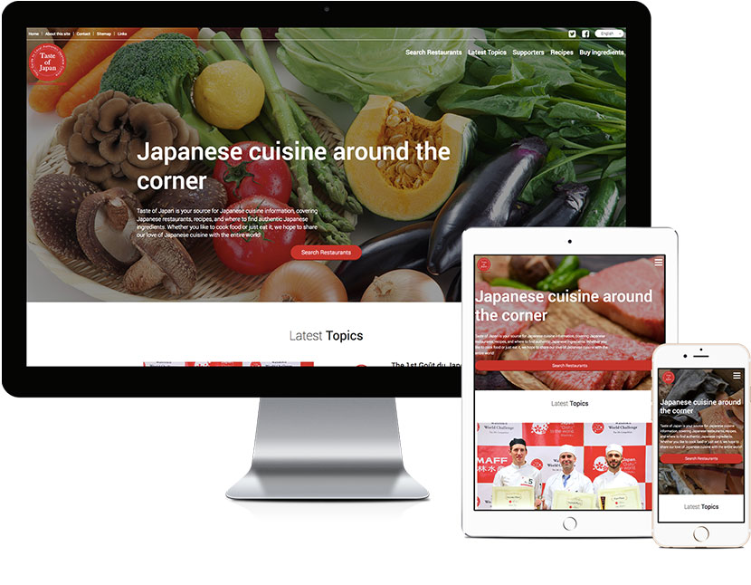 Taste of Japan Official Website